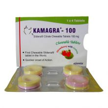 Sildenafil Kamagra Chewable Fruit in Nederland