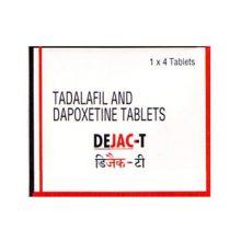 Dapoxetine + Tadalafil Dejac-T in Nederland