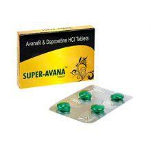 Avanafil + Dapoxetine Super-Avana in Nederland