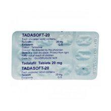 Tadalafil Tadasoft-20 mg in Nederland